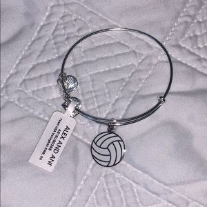 Alex and Ani Volleyball Bracelet